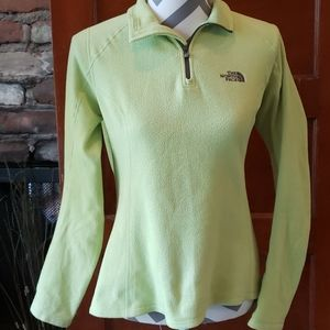 The North Face Lime Green Pullover Size small